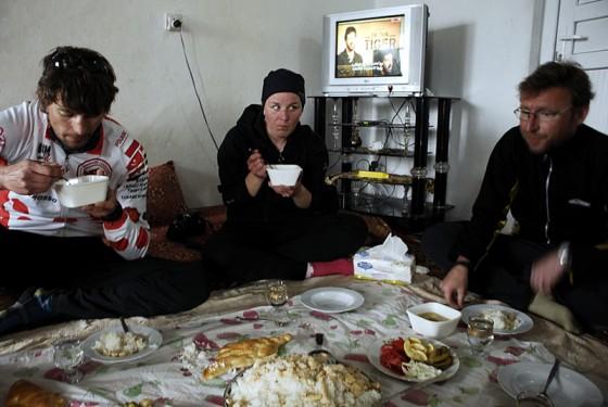 Posiłek w kraju muzułmańskim