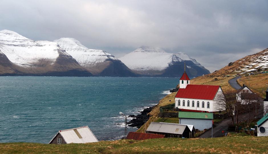 Widok na wyspę Kalsoy