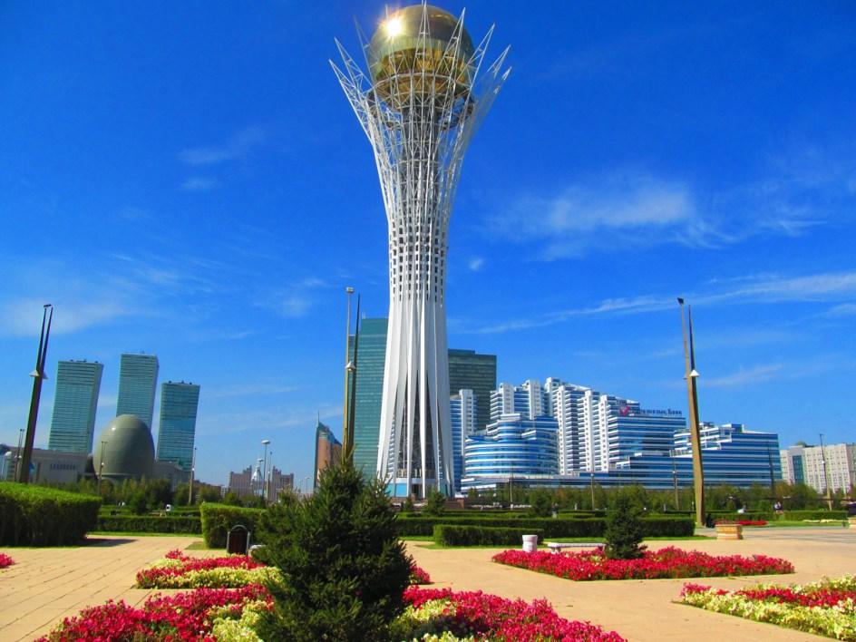 Wieża widokowa w Astanie