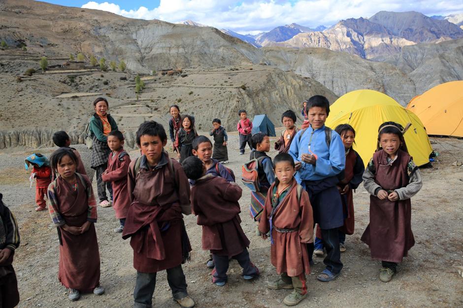 Dzieciaki z Nepalu - Grzegorz Gajewski