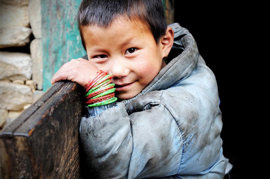Dziecko z Himalajów - Fot. Ania Błażejewska