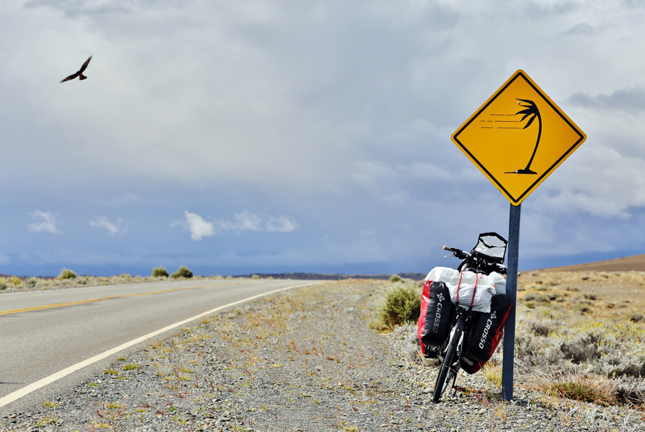 Strzeżysz na rowerze w Argentynie