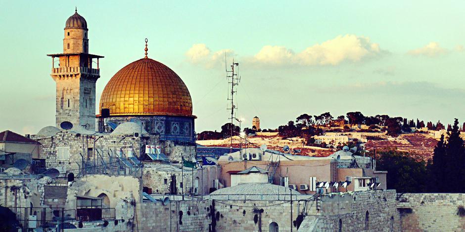 Kopuła na Skale - zdjęcia z wycieczki po Jerozolimie