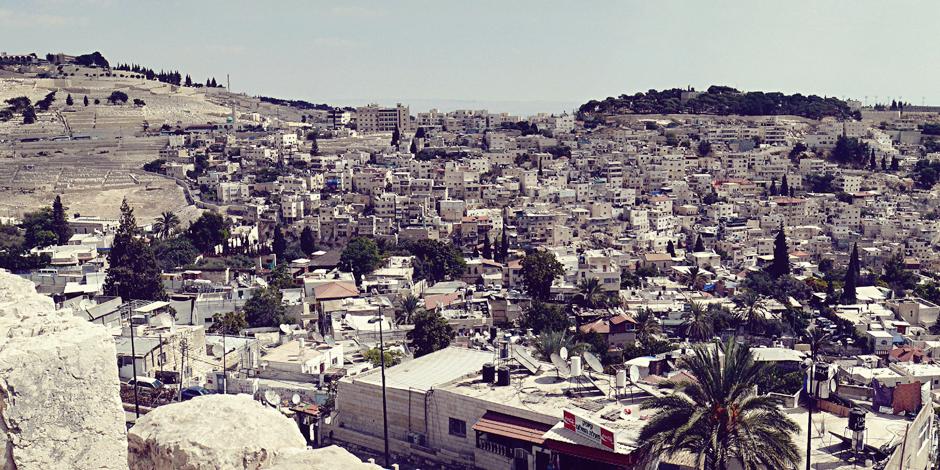 Panorama Jerozolimy - foto