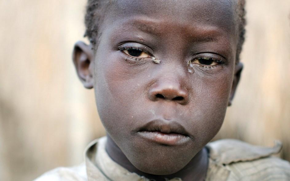 Afrykańskie dziecko, Sudan Południowy