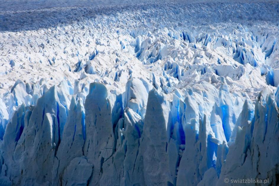 Zdjęcia z Argentyny - lodowiec Perito Moreno