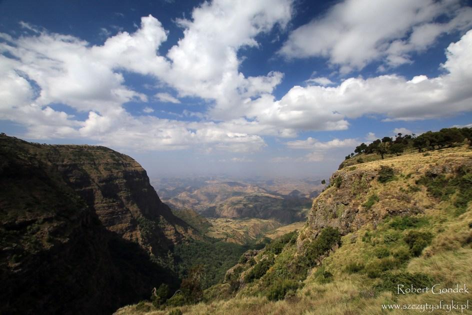 Góry Semien w Etiopii - najwyższe szczyty Afryki