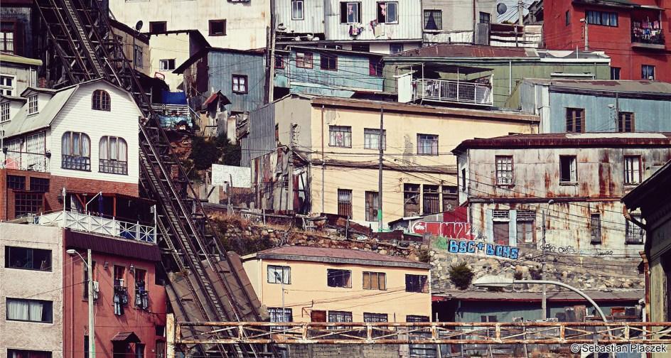 Chilijskie Valparaiso - zdjęcia z podrózy przez Ameryke Południową