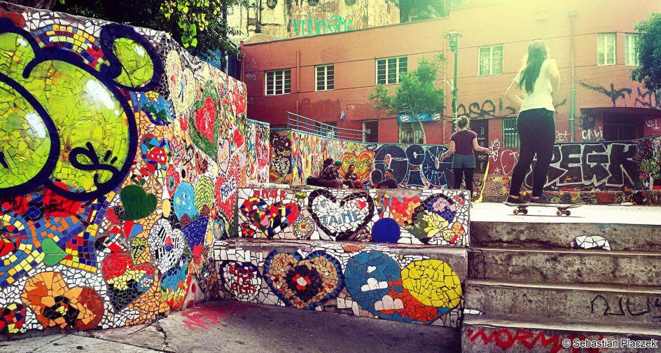 Street Art w Chile. Valparaiso