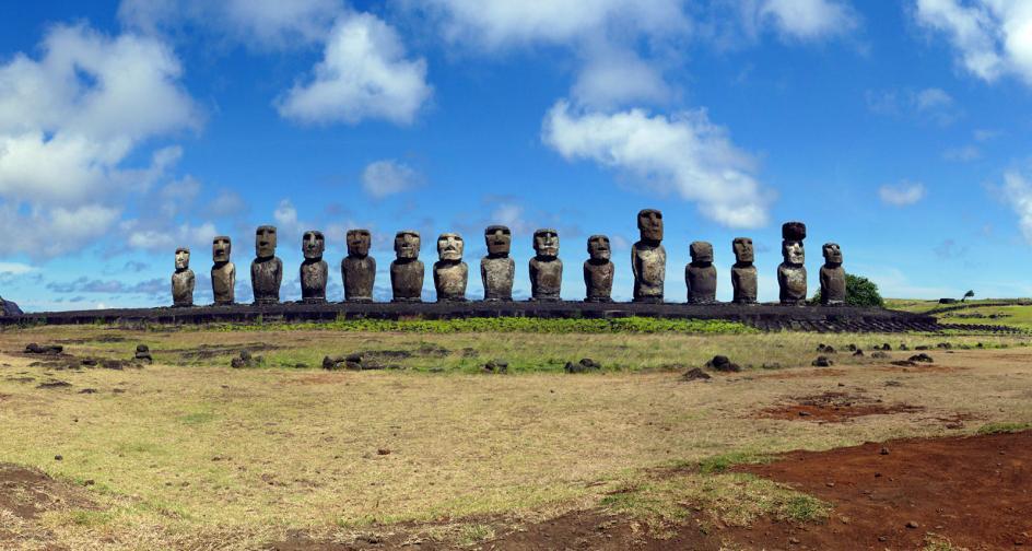 Tongariki, Rapa Nui, Oceania