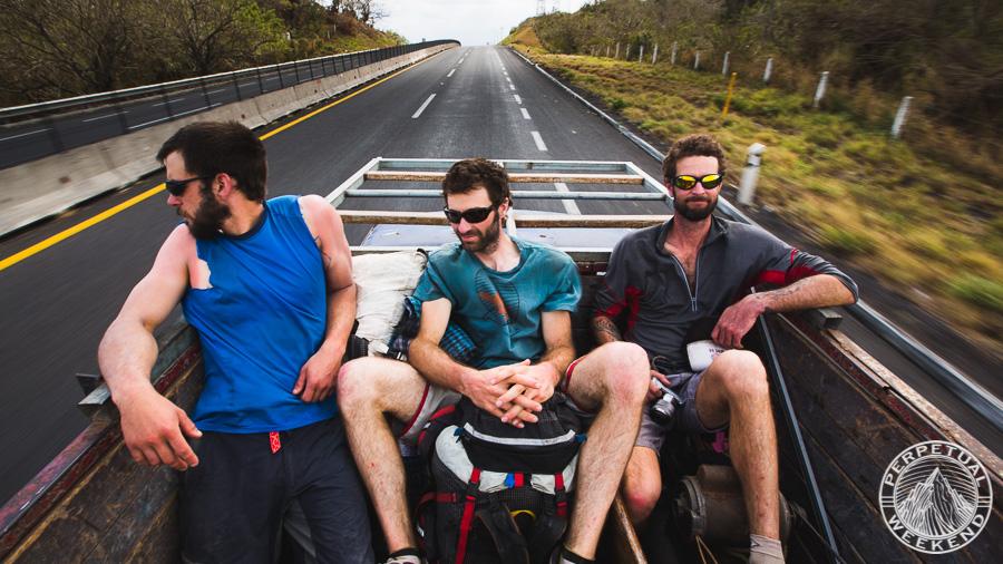 Hitchhiking to Veracruz