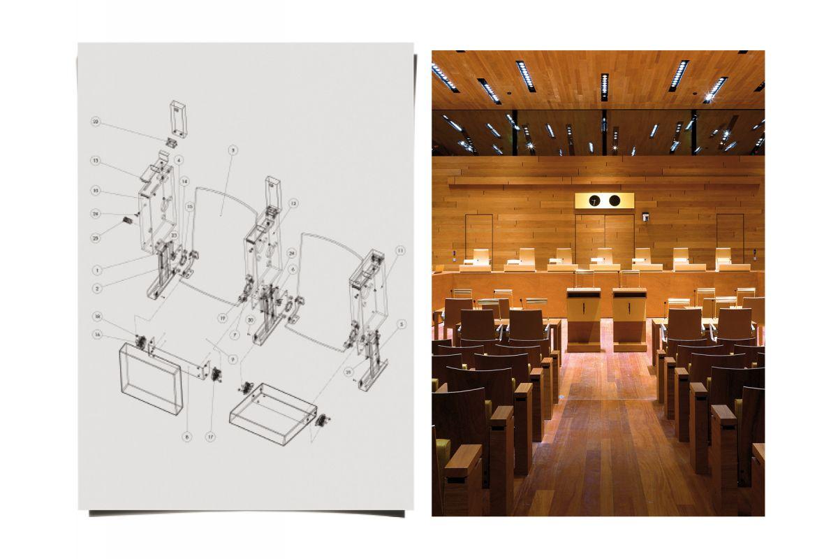Dominique Perrault Architecture Cour De Justice De L