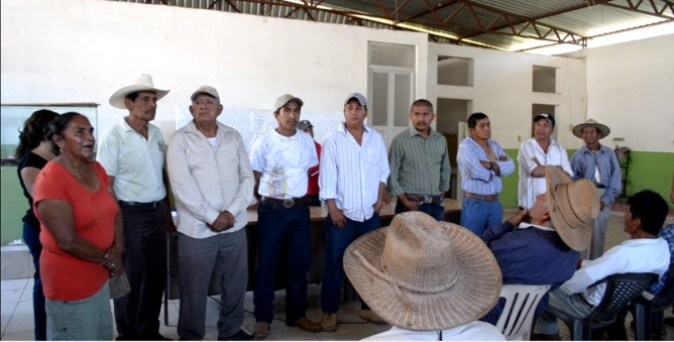 nueva dirigencia comunal zacualpan