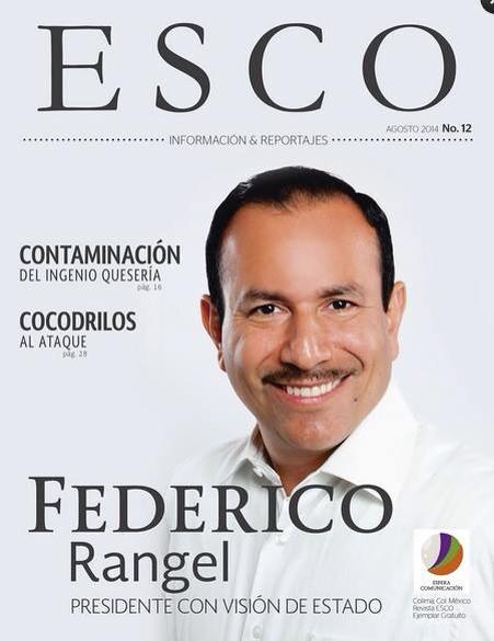 Federico Rangel en Esco