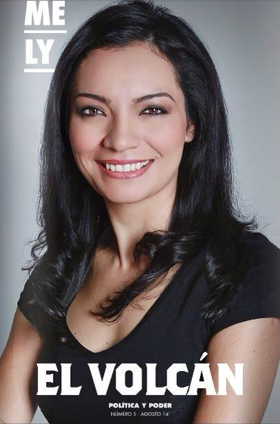 Mely Romero en El Volcán