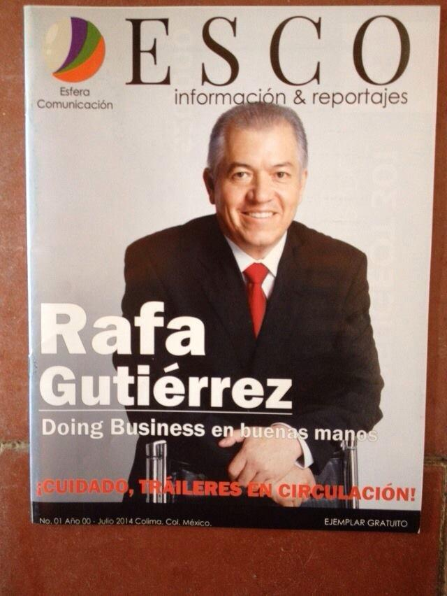 Rafael Gutiérrez en Esco
