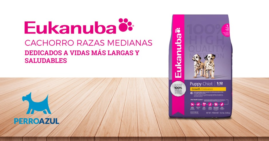 Eukanuba Cachorro Razas Medianas