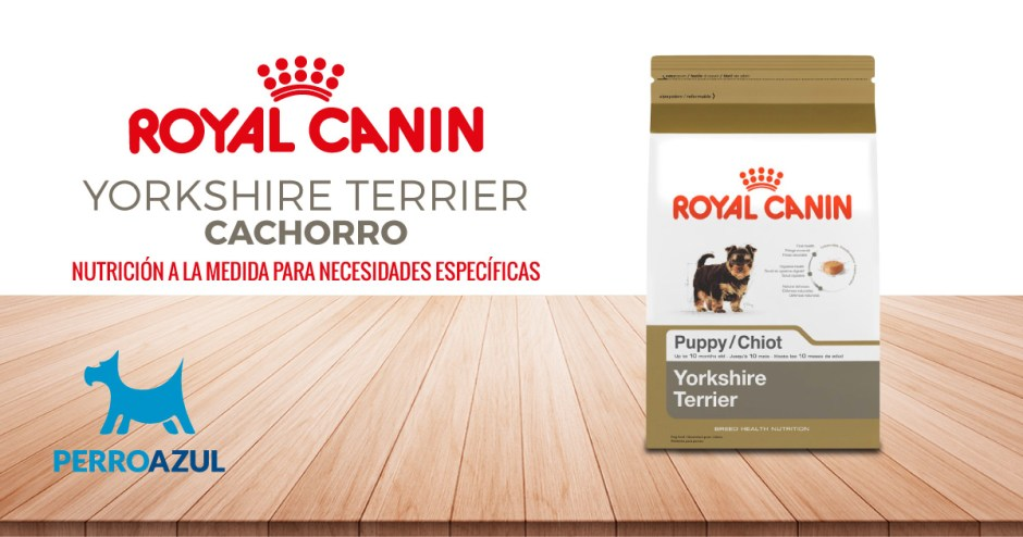 Croquetas Royal Canin Yorkshire Terrier Cachorro