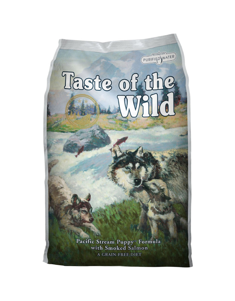 Taste of the Wild Pacific Stream Puppy de Salmón Ahumado para Cachorro