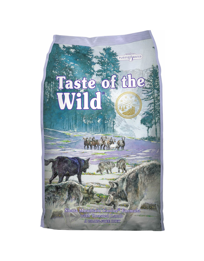Taste of the Wild Sierra Mountain de Cordero Asado para Adulto