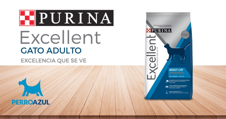 Croquetas Purina Excellent Gato Adulto
