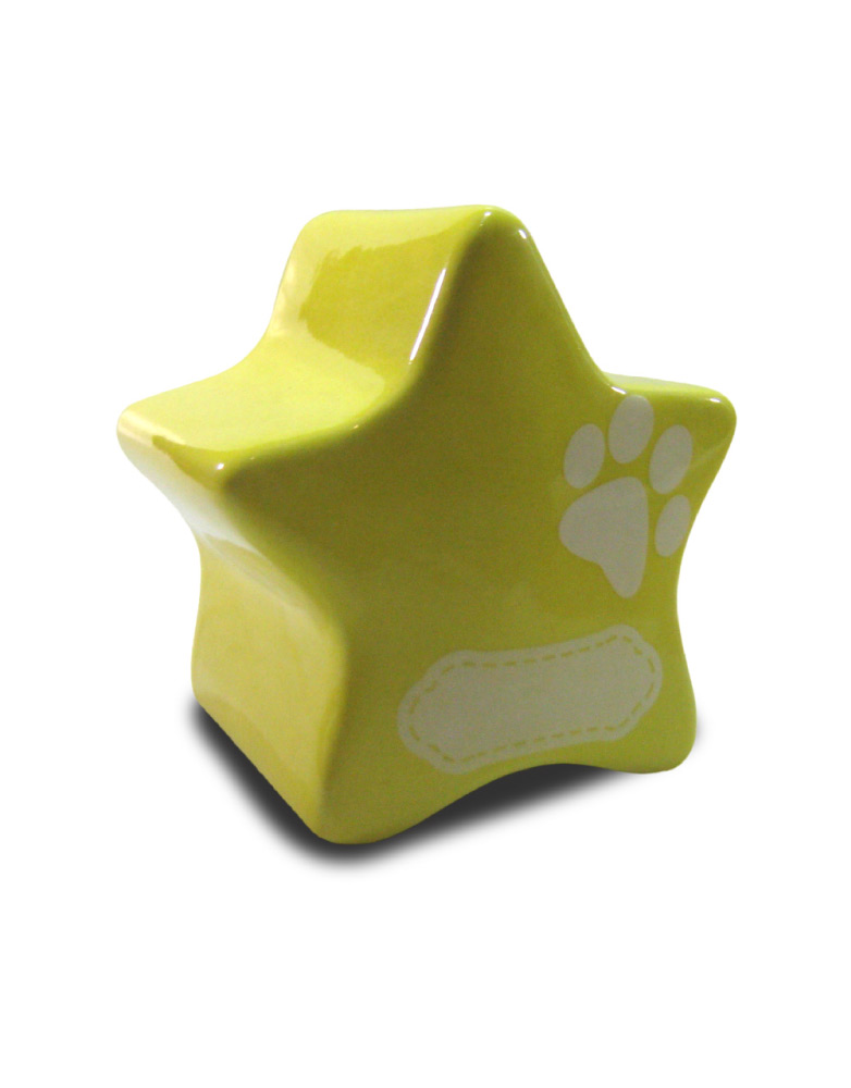 Urna para mascota modelo Estrella