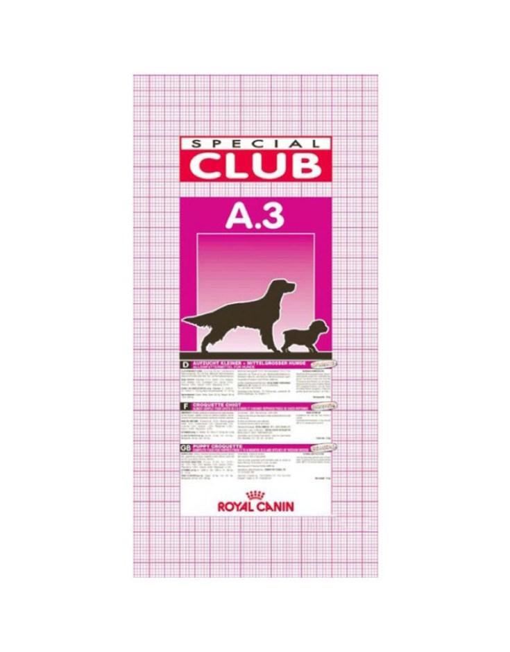 Croquetas para perro Royal Canin Club A3