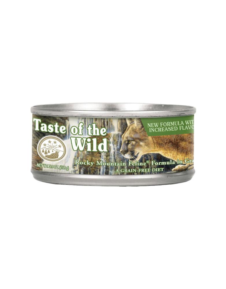 Alimento Húmedo en Lata Taste of the Wild Rocky Mountain Feline en Gravy