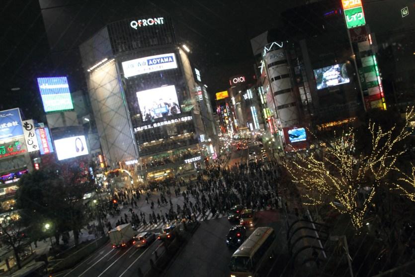 Cruce en X de Shibuya, Tokio