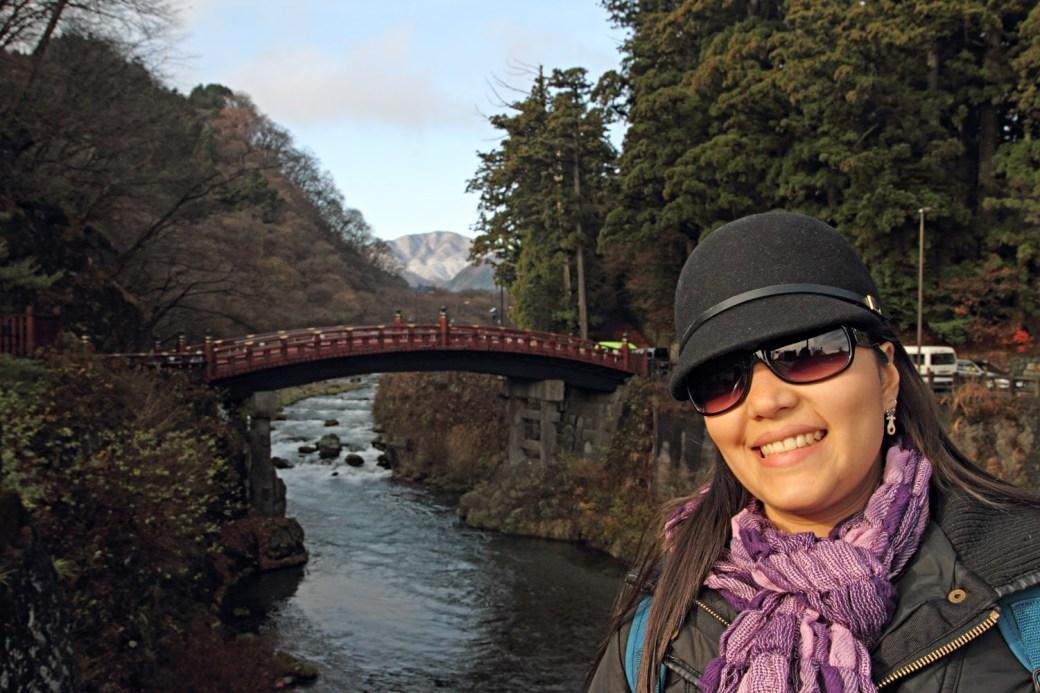Shinkyo, el puente sagrado sobre el río Daiya, en Nikko