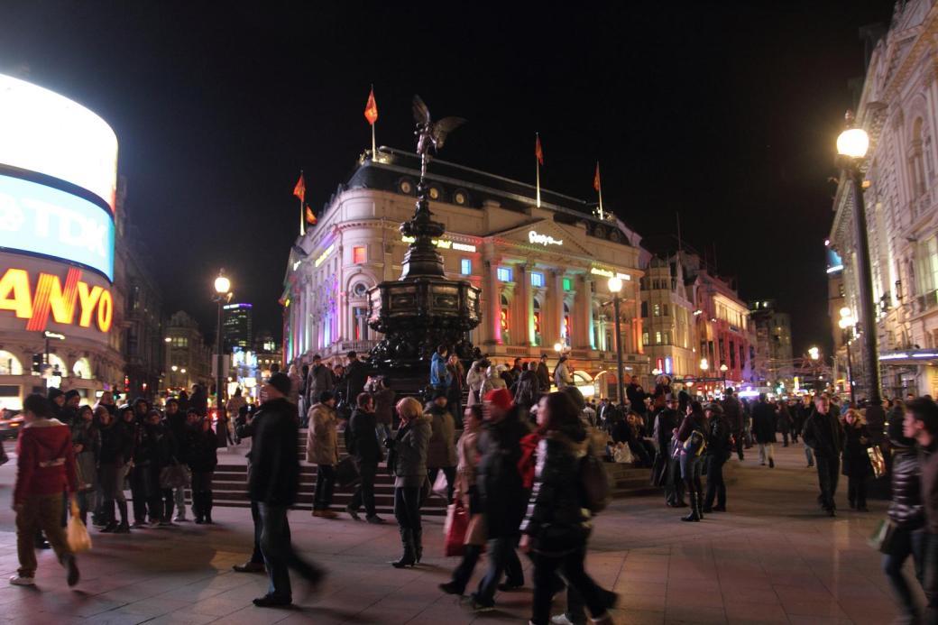 Piccadilly Circus de noche