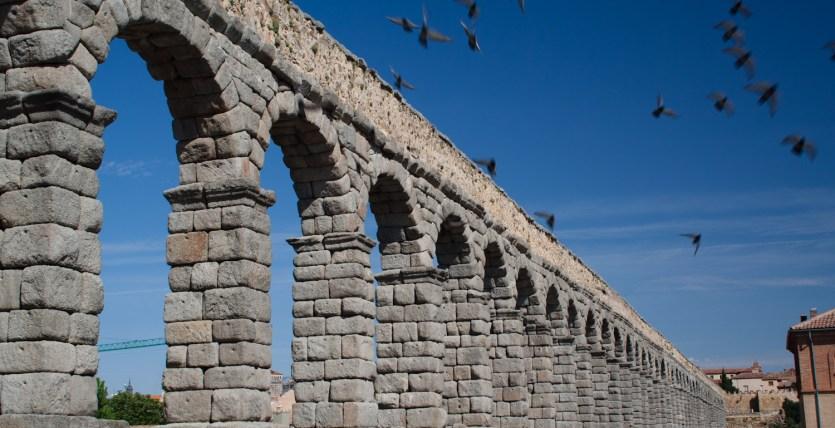 Acueducto romano de Segovia, España