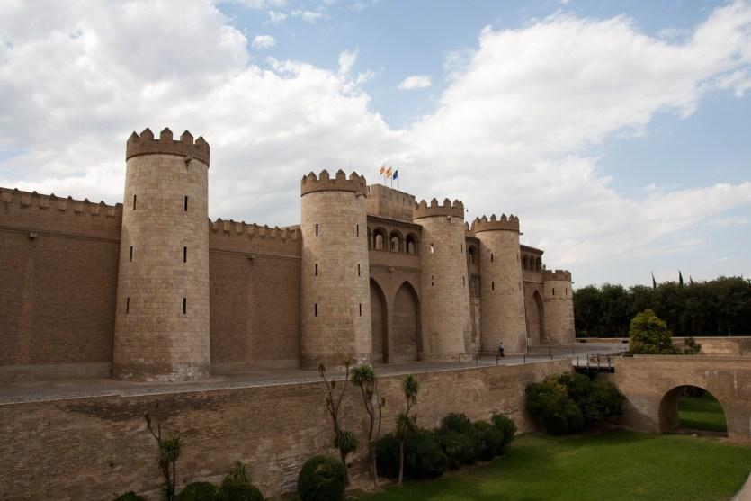 Palacio de la Aljafería, Zaragoza, España