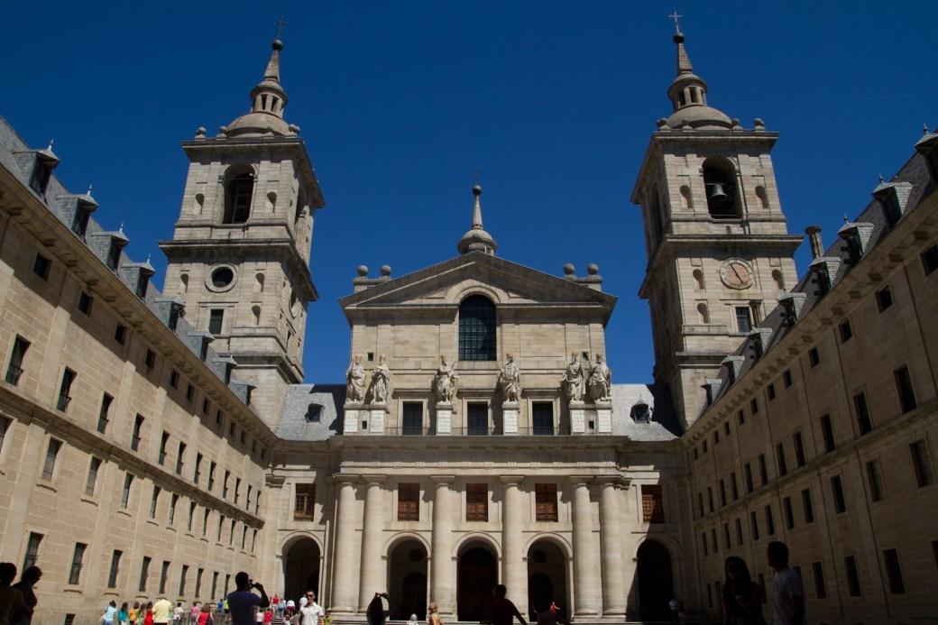 Basílica del Monasterio de San Lorenzo de El Escorial, España