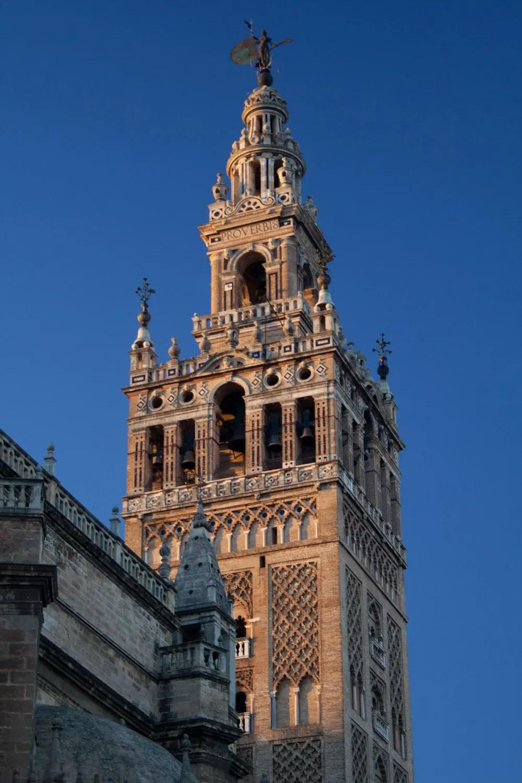 La Giralda de la Catedral de Sevilla, España