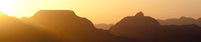 Amanecer en el Gran Cañón del Colorado