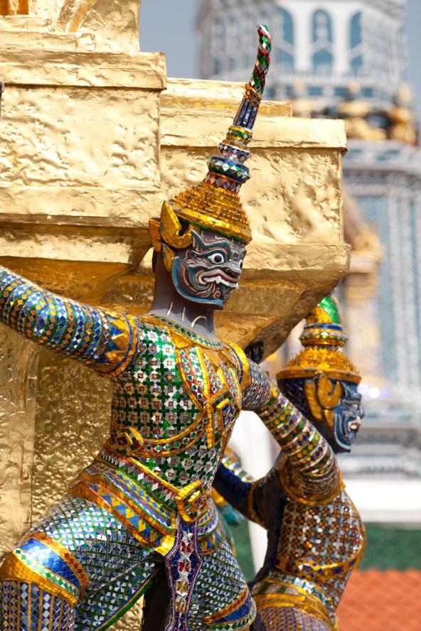 Templo Wat Phra Kaew, Bangkok, Tailandia