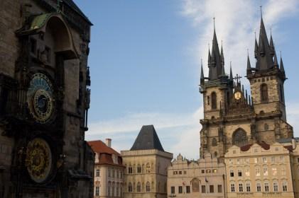 Plaza de la Ciudad Vieja, Praga, República Checa