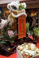 Decoraciones de año nuevo chino en Hong Kong