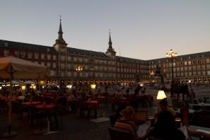 Plaza Mayor, Madrid, España