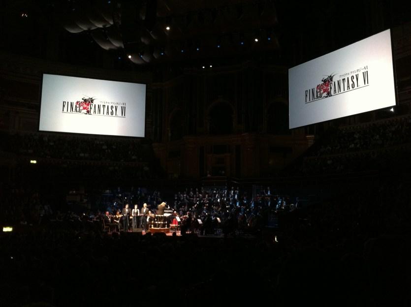 Concierto Distant Worlds en el Royal Albert Hall de Londres, 2011