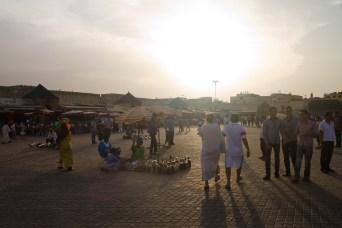 Plaza el-Hedim, Mequinez, Marruecos
