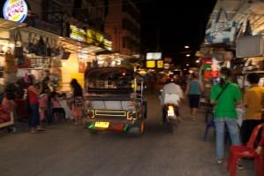 Mercado nocturno, Chiang Mai, Tailandia