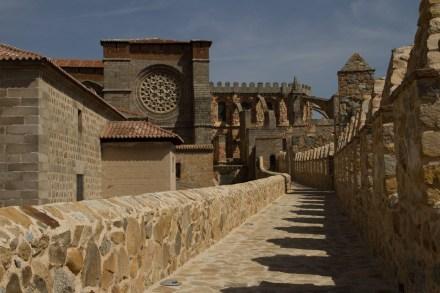Catedral y murallas de Ávila, España