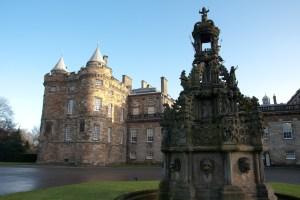 Palacio de Holyrood, Edimburgo, Escocia, Reino Unido