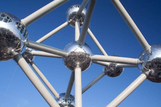 El Atomium, Bruselas, Bélgica