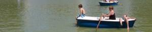 Navegando en el estanque del Retiro