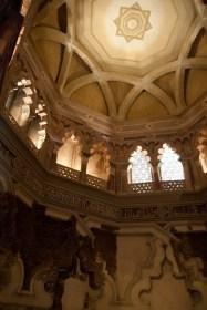 El oratorio del Palacio de la Aljafería, Zaragoza, España