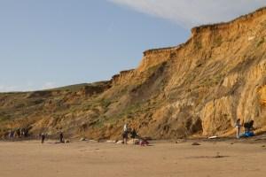 Compton Bay, Isla de Wight, Reino Unido