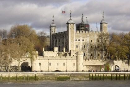La Torre de Londres, la principal fortaleza de la capital del Reino Unido